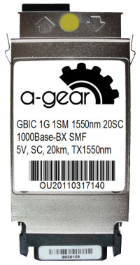 GBIC 1G WDM 20km TX1550