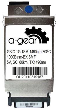 GBIC 1G WDM 80km TX1490