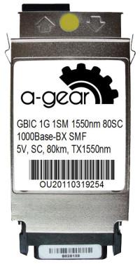 GBIC 1G WDM 80km TX1550